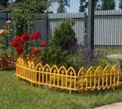 Заборчики для клумб декоративные