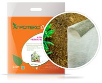 Бело-чёрный двухслойный мульчирующий материал 80 г/м2 для защиты от перегревов и сорняков.