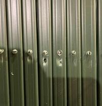 Решётка раздвижная (шпалера) 1 х 3 м., с возможными дефектами