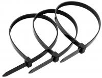 Хомуты нейлоновые черные, 2.5x100 мм, (20 шт.)