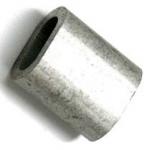 Зажим алюминиевый, 4 мм.