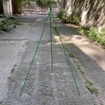Каркас для зимних укрытий, h 120 см, 3 опоры