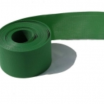 Бордюрная лента декоративная, прямая, зелёная, (15см х 9м)